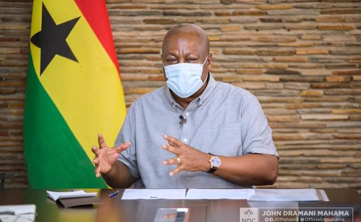Election 2020: John Mahama meets Assembly Members