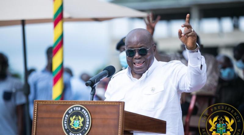 Akufo-Addo cuts sod for €70m Eastern Regional Hospital