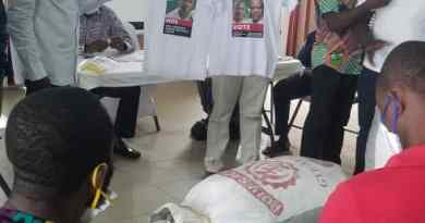 Ellembele grateful to Engineer PINTO for 500 NDC T-Shirts - An Owula Mangortey observation