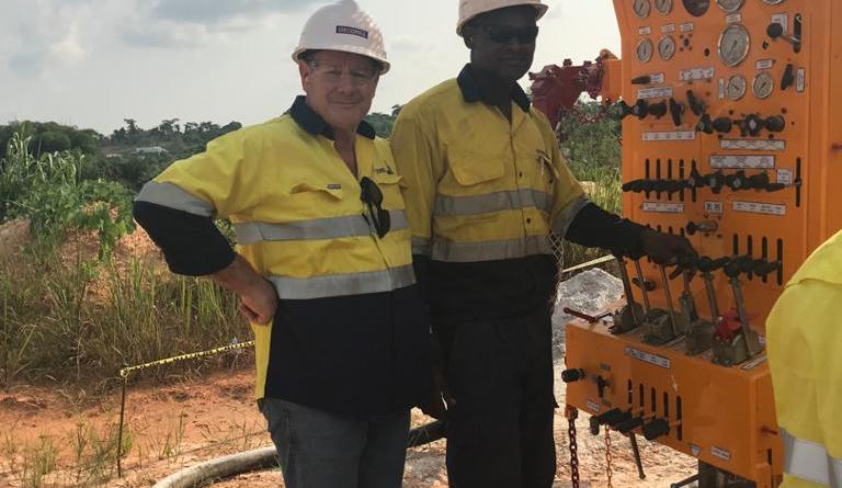 Ghanaian technicians at Geodrill Build Locally made Drill Rigs