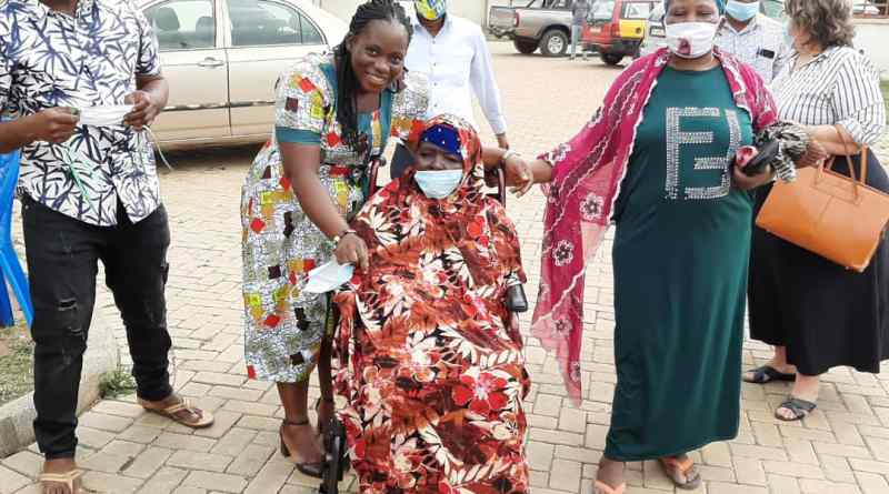 Social Workers Association, Partner Donate Wheelchair to Woman with Disability