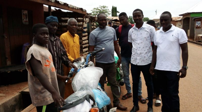 2020 polls: NDC Branch Chairman supports Campaign with Motorbikes
