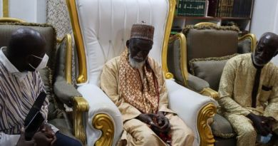 Independent Presidential Candidate Kofi Koranteng visits National Chief Imam