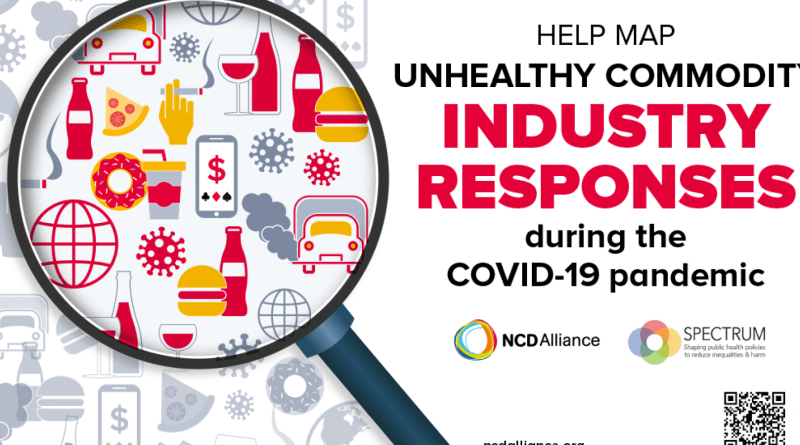 New Report details how the Unhealthy Commodity industry is Leveraging the COVID-19 pandemic for Commercial Gain
