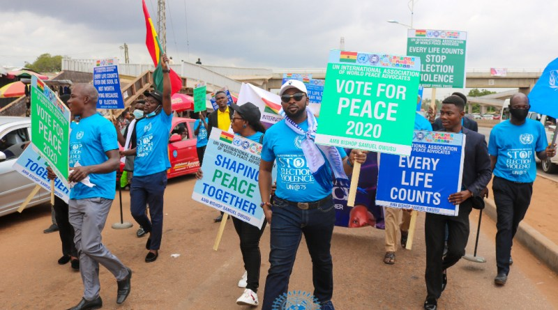 Election 2020: UN Ambassador launches Peace Campaign