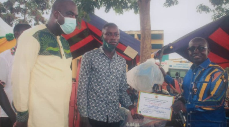 CR: 22 Year Old crowned Overall Best Farmer at Gomoa East