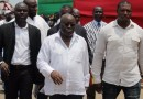 President Nana Addo Dankwa Akufo-Addo with his bodyguard