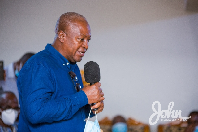 #2020polls: Using state security to terrorise voters unacceptable – Mahama