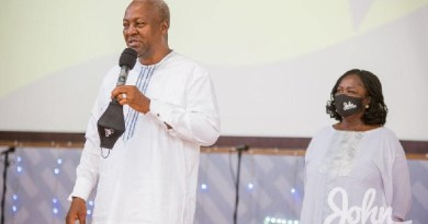 #2020polls: Mahama prays with Proverbs 16:20 after rejecting results