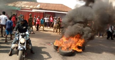 Manyhia: 'No Mahama, No peace' demonstrators clash with police