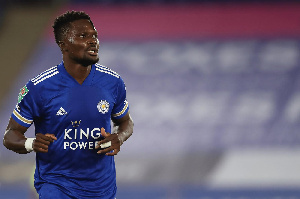 Daniel Amartey makes injury return for Leicester City