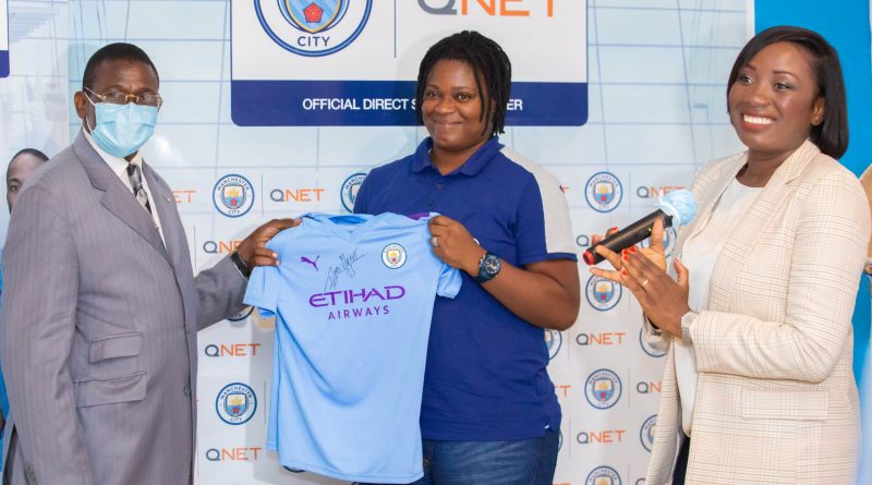 QNET engages Leadership of Sports Fraternity and Launches New Watch Collection with Manchester City FC