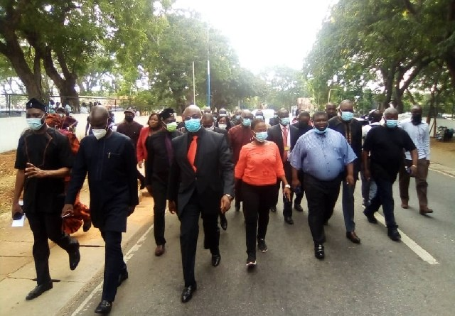 Haruna Iddrisu, Muntaka, nine others sued over EC protest march