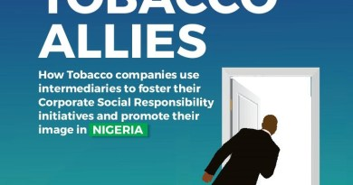 Newly launched report exposes tobacco industry use of allies in Nigeria