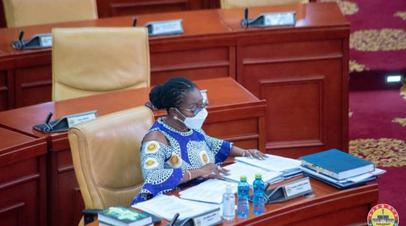 Parliament vets Ursula Owusu-Ekuful as Minister Designate for Communication and Digitization
