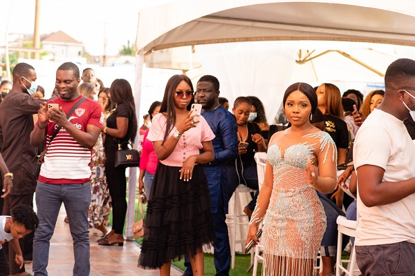 Photos: Juliet Ibrahim, Vanessa Gyan, Sister Deborah, Cookie Tee, Swanky Jerry, Others attend launch of Wanneka Luxury Hair branch in Ghana