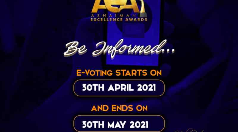 Ashaiman Excellence Awards #Aea21 announces first badge of Nominees