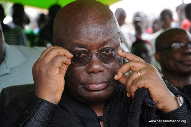 Akufo-Addo can't fight corruption – Ghanaians say in survey