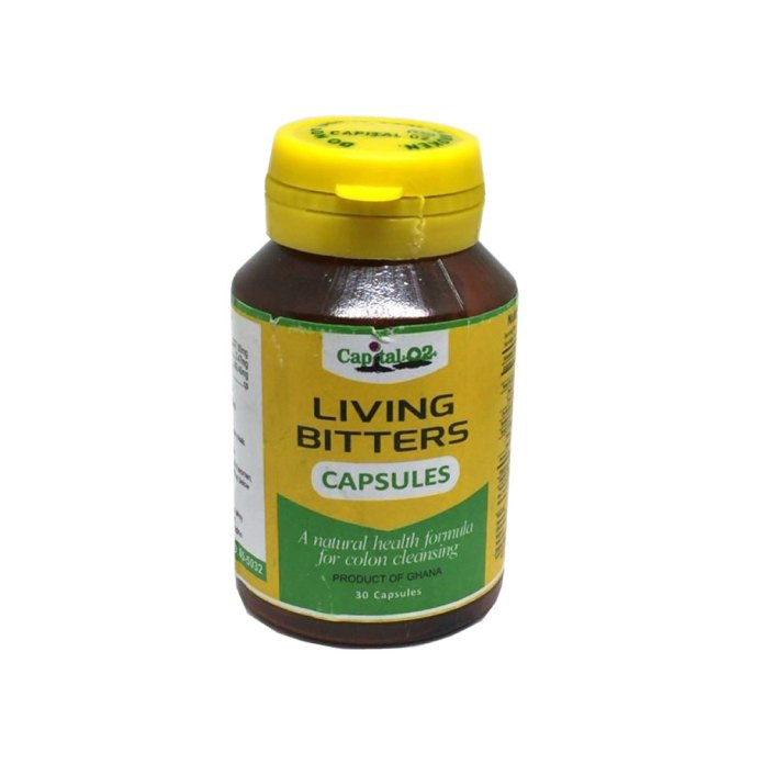 Capital O2's Living Bitters Capsules not adulterated – FDA
