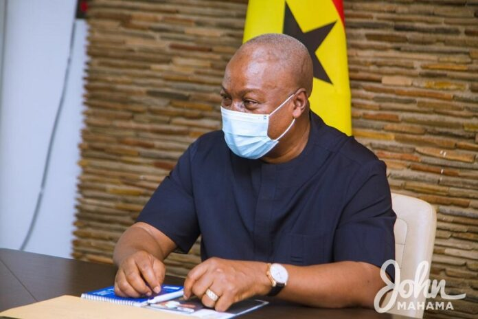 Every Ghanaian owed ₵4,700 under me but under Akufo-Addo everyone owes ₵11,000 – Mahama