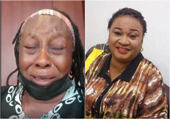 Patience Ozokwo weeps over death of colleague