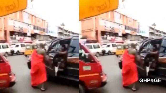 VIDEO: Husband chases man with a CUTLASS in the street for bonking his wife