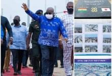 Akufo-Addo Commissions Phase One Of Tema Interchange