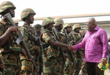 Over 700 Soldiers Deployed To Ghana's Borders – Nana Addo