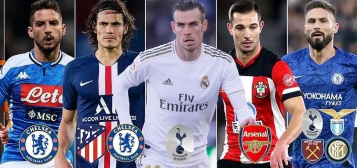 Football Transfer News: Barcelona, Chelsea, Manchester united, Manchester City