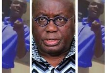 Nana Addo Responses To The Video Of The WASSCE Candidate Raining 'Insults' on Him