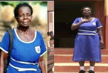 'I Will Get 'A' In All Subjects - 57-year old Elizabeth Yamoah Who Wrote BECE.