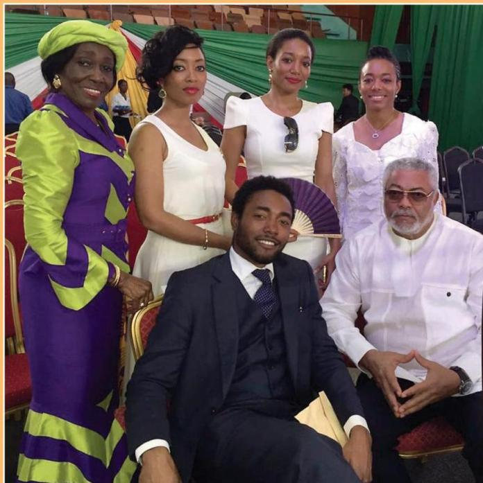 Rawlings United His Nuclear Family