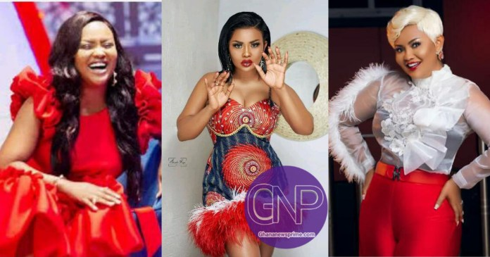 Nana Ama Hit Over Million Likes On Social Media With Her Vals Day Styles - See Photos