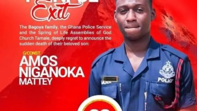 Police Knocked And Killed By Aduana Stars Player Burial Funeral Announced