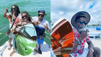 Shatta Wale and Jupitar lands in New Jersey in brand new Lamborghini (video)