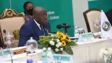 Akufo-Addo, ECOWAS leaders suspend Mali as Military junta seizes power (Photo: ECOWAS)