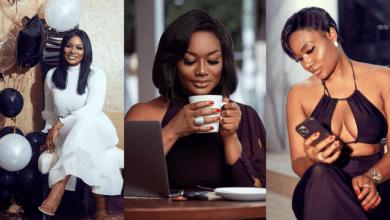 Sandra Ankobiah celebrates her birthday with seductive photos on social media
