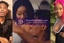 Efia Odo stirs more dating rumours with loved-up post of Kwesi Arthur's VGMA act