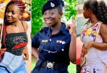 Meet the most beautiful Ghanaian Police Officer with swag (Photos)