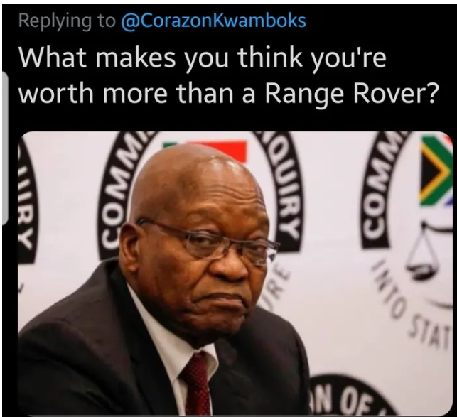 """Lady asks Twitter users to choose """"me or the range rover"""" (Photo)"""