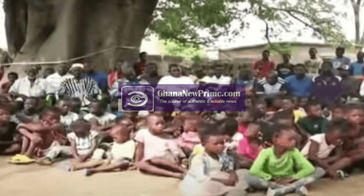 Meet the Ghanaian man with 47 wives and over 240 children [Video]