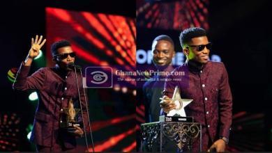 #VGMA22: Kofi Kinaata wins Songwriter award for 4 consecutive years