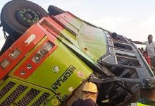 Pregnant woman, 3 others die in gory accident on Kintampo road