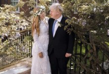 Boris Johnson and Carrie Symonds' wedding photos are out