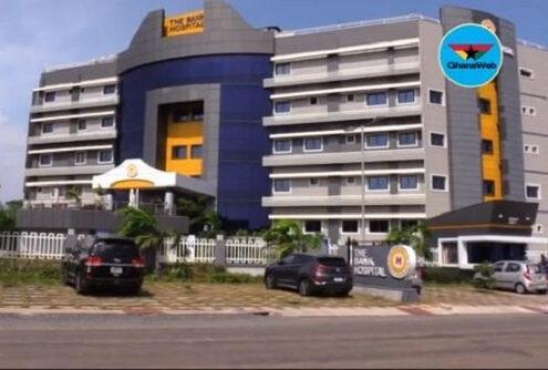 BoG Governor commissions 65-bed Bank Hospital for staff, general public