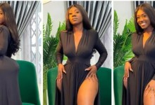 Hajia Bintu Puts Her R@w H!ps On Full Display To Confim She Is Naturally End0wed [Photos]