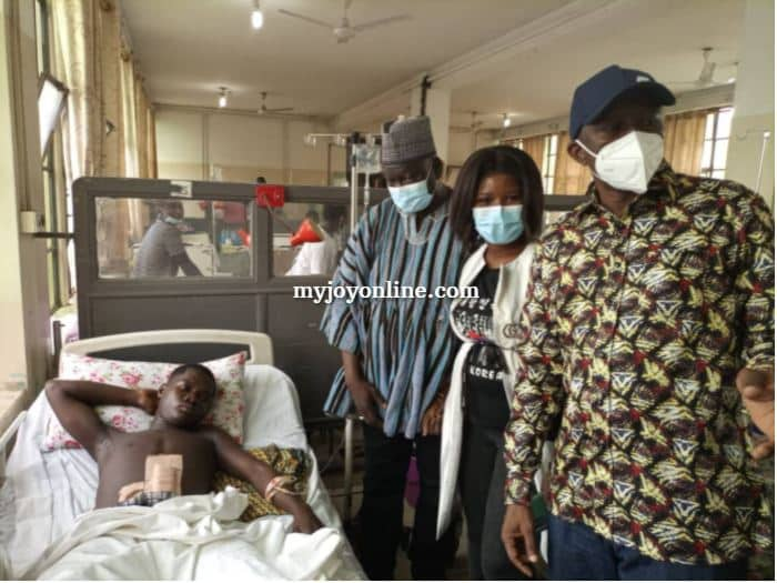 Ejura shooting: 16-year-old survivor loses one leg after amputation [Photos]