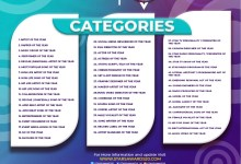 Check out the list of categories that you can apply for at Star Awards