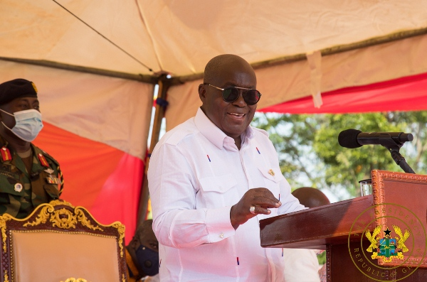 President Akufo-Addo promises to complete stalled projects