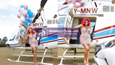 Government Worker Hires A Chopper For His Side Chick On Her Birthday